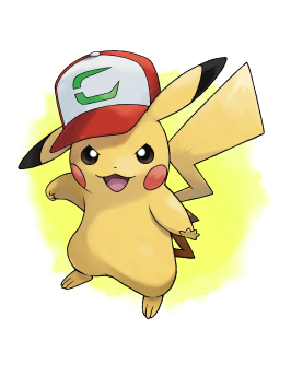 Splash Image: Partner Cap Pikachu