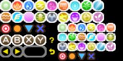 Type icons