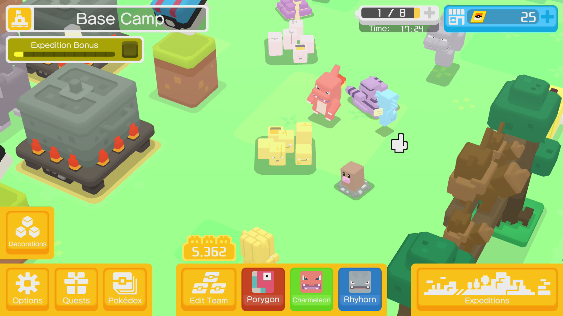 pokemon quest how to play