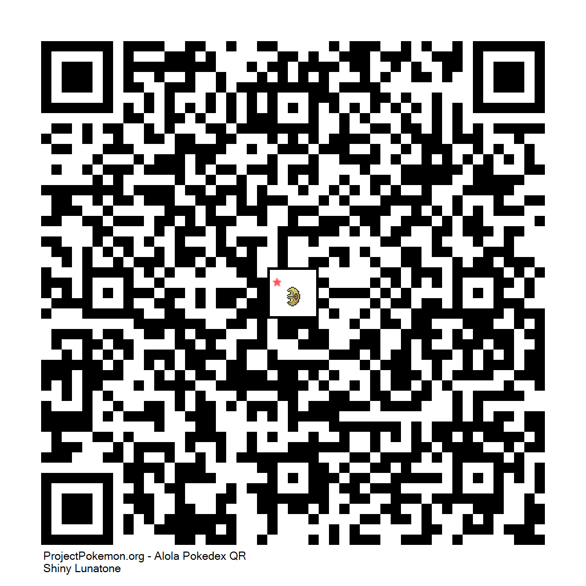 337 Shiny Lunatonepng Generation 7 Qr Codes Project Pokemon
