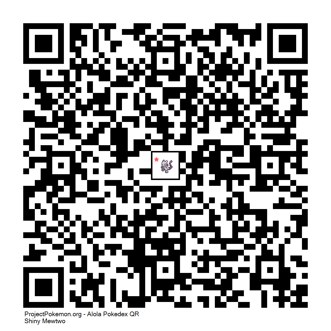 150 shiny mewtwo png qr codes for gen 7 project pokemon forums