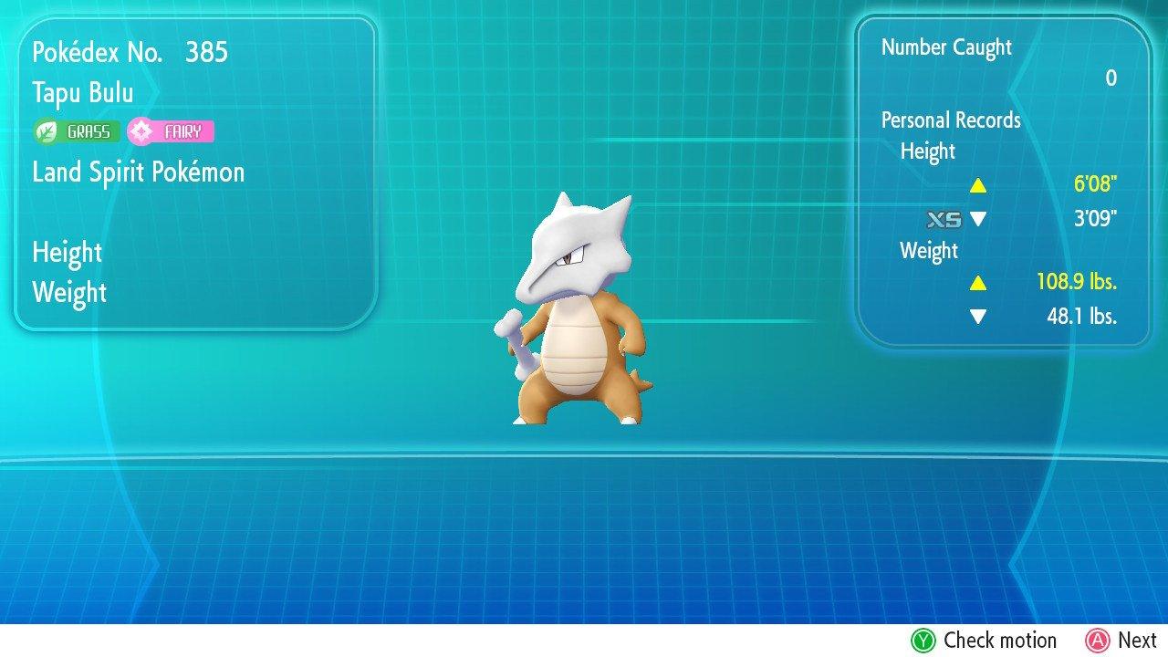 Unused Content: Let's Go Pikachu & Eevee - Generation 7 - Project