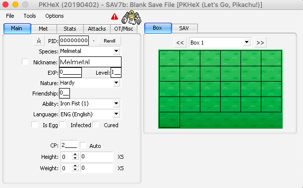 PKHeX for Mac - Save Editing - Project Pokemon Forums