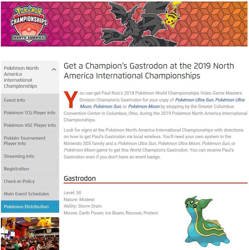 NA Championships 2019 Gastrodon - English - Project Pokemon Forums