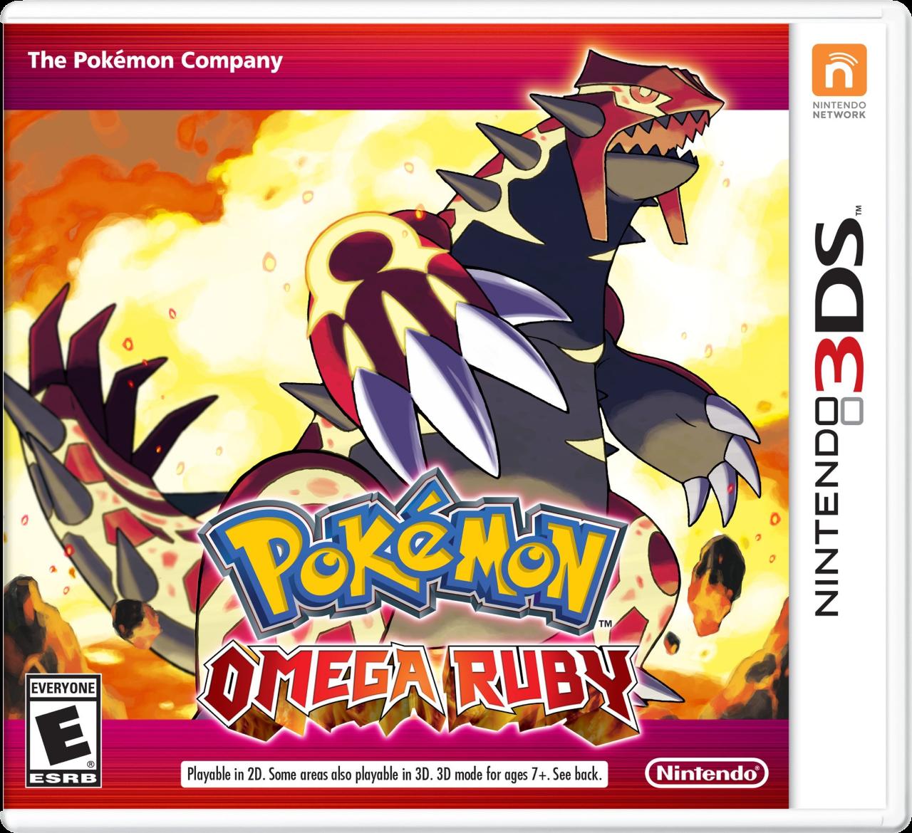 Pokémon Omega Ruby EN Box Art
