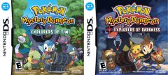 Pokémon Mystery Dungeon Explorers of Time and Darkness