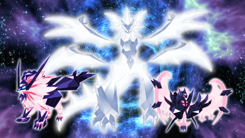 Shiny Necrozma Forms