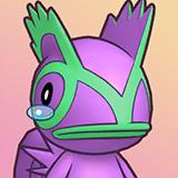 RTDX Portrait Teary-Eyed Purple