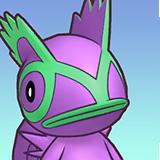 RTDX Portrait Thinking Purple