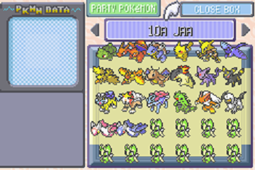 Pokemon Generation III Event Compilation Savefiles