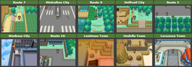 Pokemon White 2 User Contributed Saves Project Pokemon Forums To the west, it leads to route 6. pokemon white 2 user contributed