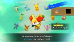 Fennekin actually being in the game