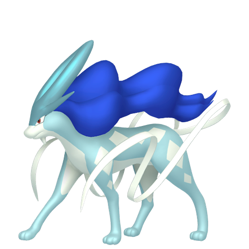 Shiny Suicune