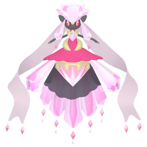 Shiny Mega Diancie